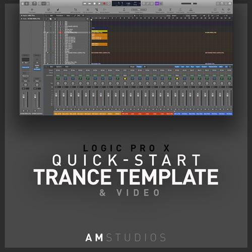 trance template