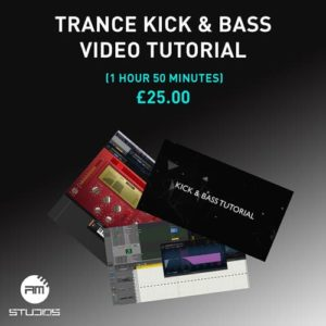 Trance Kick & bass tutorial