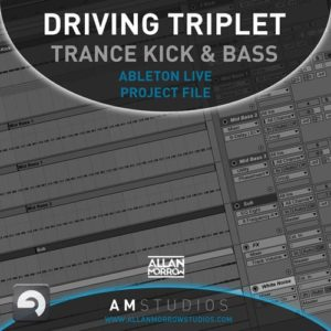 Driving Triplet Trance Kick & Bass Ableton