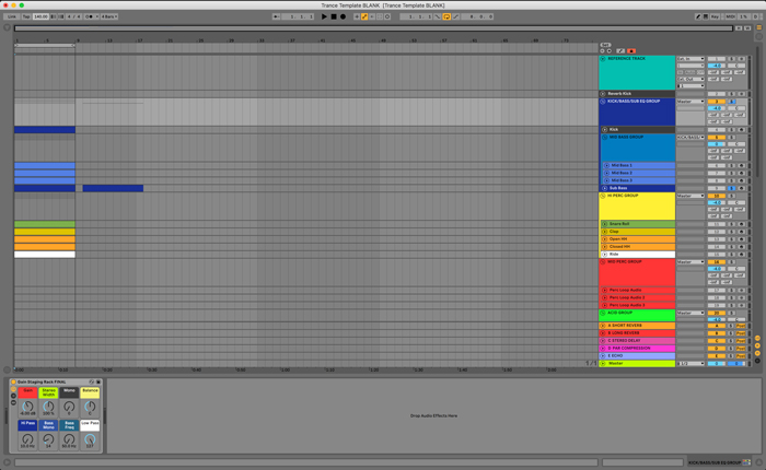 Trance Ableton 10 template
