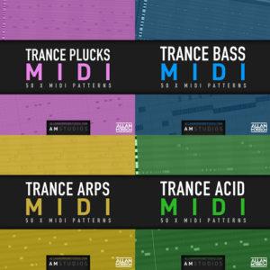 Trance MIDI pack